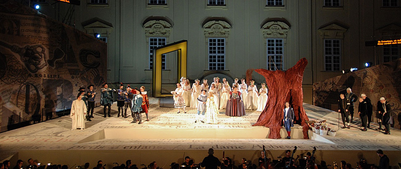 Le Comte Ory Bühnenbild
