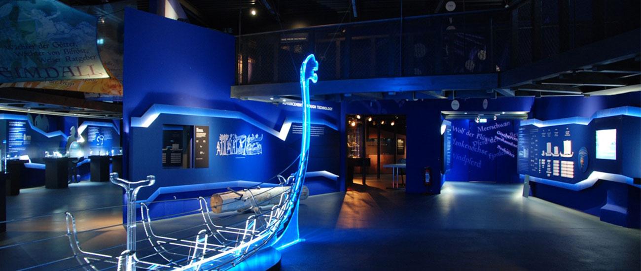 studio kudlich Wikinger! Ausstellung Lokschuppen